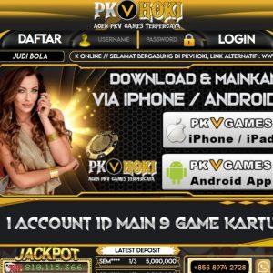 pkvhoki, pkv, poker online